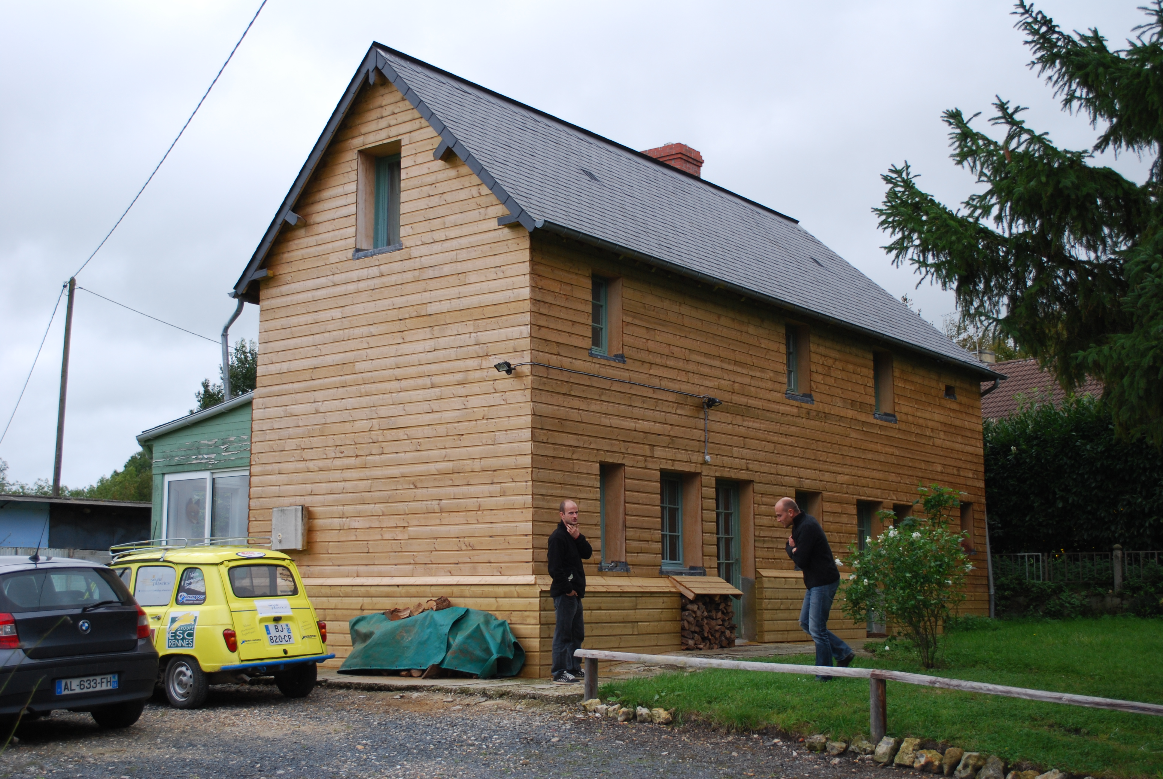 isolation maison bois